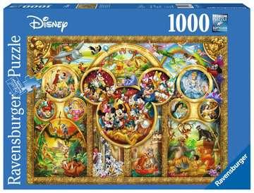 Puzzle 1000 p - Les plus beaux thèmes Disney Puzzle;Puzzle adulte - Image 1 - Ravensburger