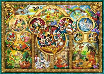 15266 Erwachsenenpuzzle Die schönsten Disney Themen von Ravensburger 2