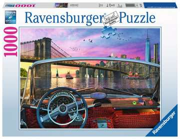 Brooklyn Bridge Jigsaw Puzzles;Adult Puzzles - image 1 - Ravensburger