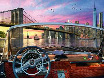 Brooklyn Bridge Jigsaw Puzzles;Adult Puzzles - image 2 - Ravensburger