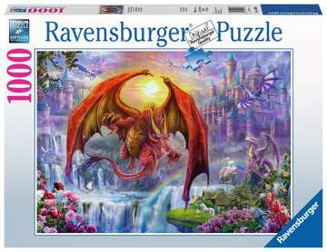 Dragon Kingdom Jigsaw Puzzles;Adult Puzzles - image 1 - Ravensburger