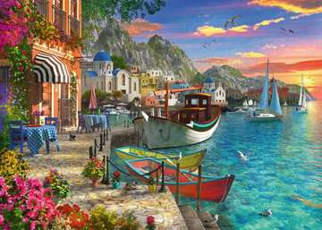 Grandiose Greece Jigsaw Puzzles;Adult Puzzles - image 2 - Ravensburger