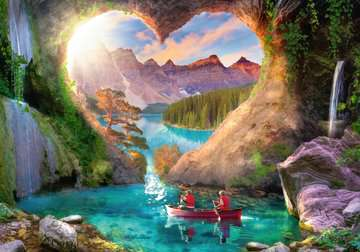 Heartview Cave Jigsaw Puzzles;Adult Puzzles - image 2 - Ravensburger