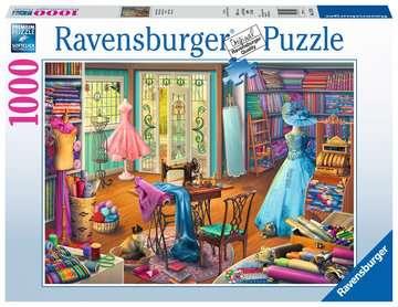 Chez la couturière Puzzles;Puzzles pour adultes - Image 1 - Ravensburger