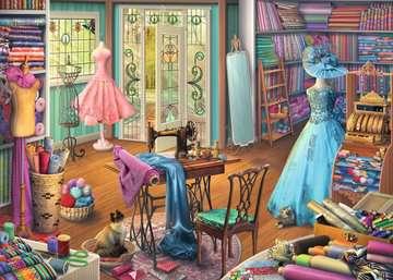 Seamstress Shop Jigsaw Puzzles;Adult Puzzles - image 2 - Ravensburger
