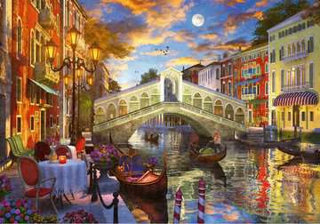 Sunset over Rialto Jigsaw Puzzles;Adult Puzzles - image 2 - Ravensburger