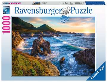 Big Sur Sunset Jigsaw Puzzles;Adult Puzzles - image 1 - Ravensburger