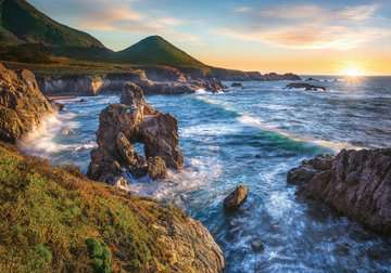 Big Sur Sunset Jigsaw Puzzles;Adult Puzzles - image 2 - Ravensburger