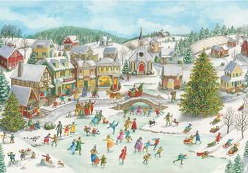 Playful Christmas Day Jigsaw Puzzles;Adult Puzzles - image 2 - Ravensburger
