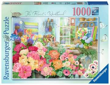 The Florist s Workbench, 1000pc Puzzles;Adult Puzzles - image 1 - Ravensburger