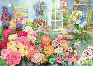 The Florist s Workbench, 1000pc Puzzles;Adult Puzzles - image 2 - Ravensburger