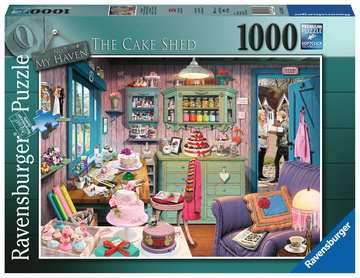My Haven No.5, The Cake Shed, 1000pc Puzzles;Adult Puzzles - image 1 - Ravensburger