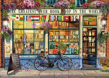 The Greatest Bookshop, 1000pc Puslespil;Puslespil for voksne - Billede 2 - Ravensburger