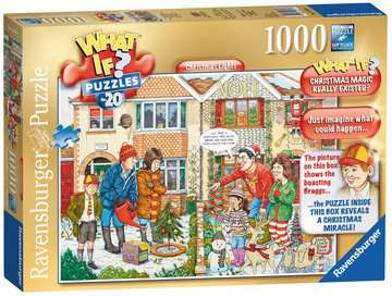 WHAT IF? No.20 Christmas Lights, 1000pc Puzzles;Adult Puzzles - image 1 - Ravensburger
