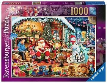 Let s Visit Santa! Limited Edition, 1000pc Puslespil;Puslespil for voksne - Billede 1 - Ravensburger