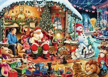 Let s Visit Santa! Limited Edition, 1000pc Puzzles;Adult Puzzles - image 2 - Ravensburger