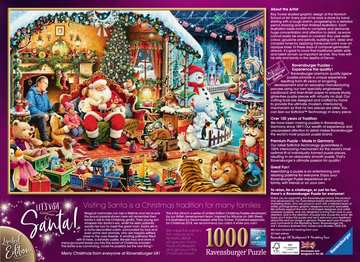 Let s Visit Santa! Limited Edition, 1000pc Puslespil;Puslespil for voksne - Billede 3 - Ravensburger