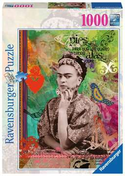 Frida Kahlo de Rivera Ravensburger Puzzle  1000 pz - Fantasy Puzzle;Puzzle da Adulti - immagine 1 - Ravensburger