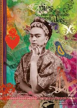 Frida Kahlo de Rivera Ravensburger Puzzle  1000 pz - Fantasy Puzzle;Puzzle da Adulti - immagine 2 - Ravensburger