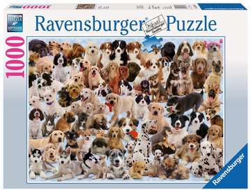 Dog s Galore! Jigsaw Puzzles;Adult Puzzles - image 1 - Ravensburger