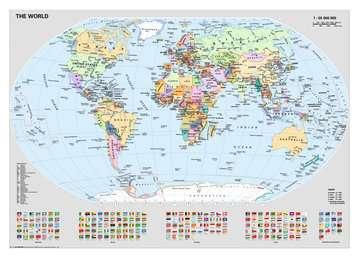15652 Erwachsenenpuzzle Politische Weltkarte von Ravensburger 2