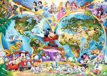 15785 Erwachsenenpuzzle Disney s Weltkarte von Ravensburger 2