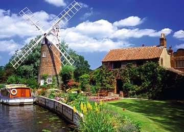 Malerische Windmühle Puzzle;Erwachsenenpuzzle - Bild 2 - Ravensburger