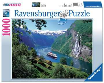Norwegischer Fjord Puzzle;Erwachsenenpuzzle - Bild 1 - Ravensburger