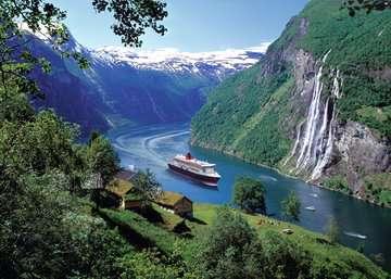 Norwegischer Fjord Puzzle;Erwachsenenpuzzle - Bild 2 - Ravensburger