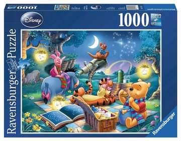 KUBUŚ PUCHATEK - WIECZORNY ODPOCZYNEK 1000EL Puzzle;Puzzle dla dorosłych - Zdjęcie 1 - Ravensburger