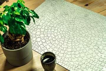 SREBRNY KRYPT 654 EL Puzzle;Puzzle dla dorosłych - Zdjęcie 16 - Ravensburger