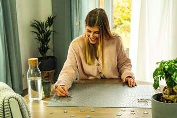 Krypt - silver 654 dílků 2D Puzzle;Puzzle pro dospělé - obrázek 4 - Ravensburger