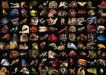 15983 Erwachsenenpuzzle 99 atemberaubende Tiere von Ravensburger 2