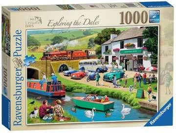 Leisure Days No 2 Exploring the Dales 1000pc Puzzles;Adult Puzzles - image 1 - Ravensburger