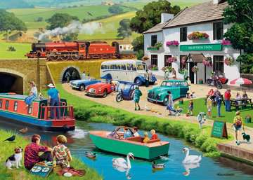 Leisure Days No 2 Exploring the Dales 1000pc Puzzles;Adult Puzzles - image 2 - Ravensburger