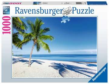 Beach Escape              1000p Puslespil;Puslespil for voksne - Billede 1 - Ravensburger