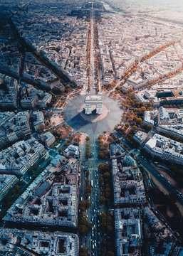 Parijs van bovenaf gezien Puzzels;Puzzels voor volwassenen - image 2 - Ravensburger
