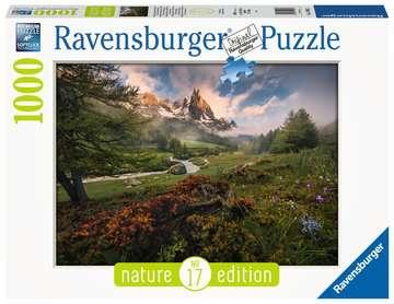Schilderachtige sfeer in Vallée de la Clarée, Franse Alpen Puzzels;Puzzels voor volwassenen - image 1 - Ravensburger