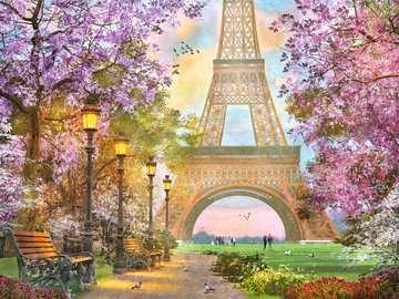 A Paris Stroll Jigsaw Puzzles;Adult Puzzles - image 2 - Ravensburger