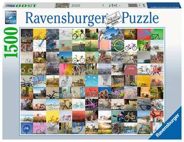 99 Bicycles Jigsaw Puzzles;Adult Puzzles - image 1 - Ravensburger