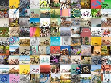 99 Bicycles Jigsaw Puzzles;Adult Puzzles - image 2 - Ravensburger