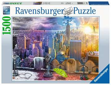 New  York Winter & Summer Jigsaw Puzzles;Adult Puzzles - image 1 - Ravensburger
