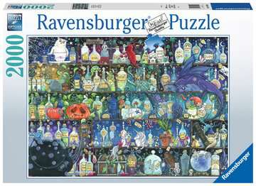Poisons and Potions, 2000pc Puzzles;Adult Puzzles - image 1 - Ravensburger