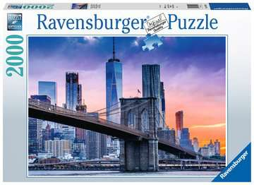 Skyline New York, 2000pc Puzzles;Adult Puzzles - image 1 - Ravensburger