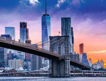 New York Skyline Jigsaw Puzzles;Adult Puzzles - image 2 - Ravensburger