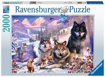 Winter Wolves Jigsaw Puzzles;Adult Puzzles - image 1 - Ravensburger