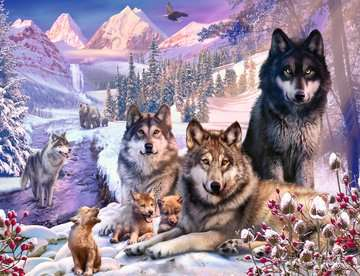 Winter Wolves Jigsaw Puzzles;Adult Puzzles - image 2 - Ravensburger