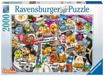 16014 Erwachsenenpuzzle Gelini auf dem Oktoberfest von Ravensburger 1