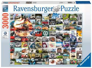99 VW Campervan Moments Jigsaw Puzzles;Adult Puzzles - image 1 - Ravensburger