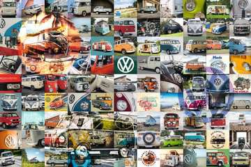 99 VW Campervan Moments Jigsaw Puzzles;Adult Puzzles - image 2 - Ravensburger